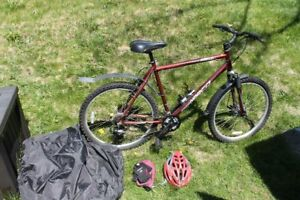 21 speed mountain bike with all the extras