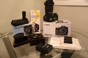 Canon EOS 70D Bundle