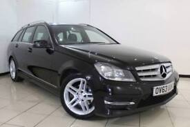 2014 63 MERCEDES-BENZ C CLASS 2.1 C200 CDI BLUEEFFICIENCY AMG SPORT 5DR AUTOMATI