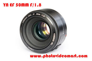 Yn lenses :YN EF50MM F1.8(C) / YN85MM F1.8(C) /YN50MM F1.8N