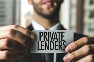 Private Lenders are ready to help you get your mortgage!