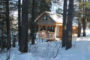 Waterfront Log Cabin available Dec 22 weekend