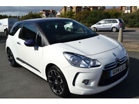 Citroen DS3 1.6e-HDi Airdream DStyle Plus, 44K MILES, FULL DEALER HISTORY, 1 OWN