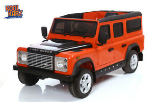 %26 OFF SALE!!! KIDS ELECTRIC LAND ROVER DEFENDER/ RUBBER WHEELS