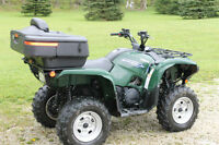 Yamaha Grizzly 550, Low Km, Power Steering,Like New