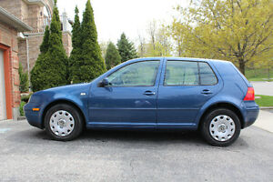 2007 VW Golf Hatchback - GREAT condition, no rust!