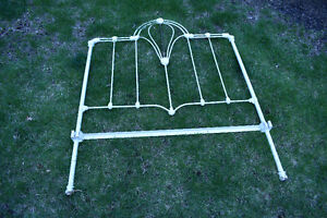 Antique Wrought Iron Twin Bed Frame