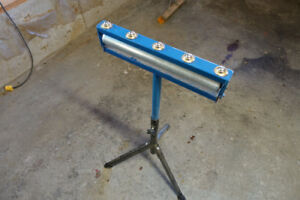Table Saw Pedestal Roller Bearing Stand