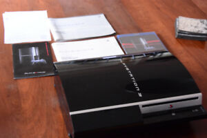 """PS3 fat """"CECHK01"""" for parts, YLOD, no hdd"""