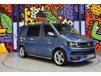 2017 VW TRANSPORTER T6 T30 SWB TDI 150PS DSG HIGHLINE KOMBI LV SPORTLINE PK BLUE
