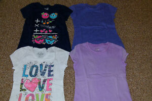 GIRL'S SIZE 8/M T-SHIRTS