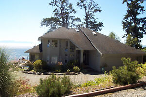 Stunning Oceanfront Home,Beautifully Furnished,Victoria/Sooke,BC