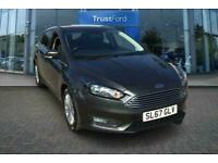 2017 Ford Focus 1.0 EcoBoost 125 Zetec Edition 5dr with Satellite Navigation and