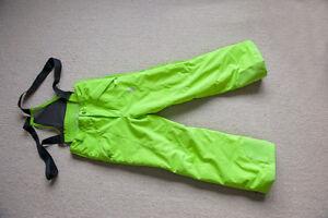 Light green boys size 12 ski pants