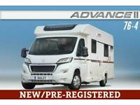 Bailey Approach Advance II 76-4, New/Pre-Registered, 2018, Motorhome