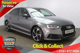image for 2019 69 AUDI A3 1.5 TFSI S LINE BLACK EDITION 4DR 1 OWNER 148 BHP