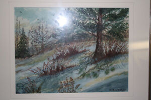 Original Watercolour Painting by M Barker