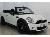 2014 64 MINI CONVERTIBLE 1.6 ONE 2DR 98 BHP