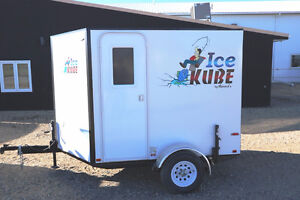 NEW PORTABLE ICE KUBE TRAILER, YOU HAVE TO SEE THIS!!