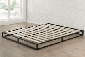 Zinus 6 inch Platfrom Foundation King Bed- New
