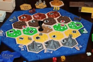 Catan 3D Game accessories, Beautiful! 364 Peices!