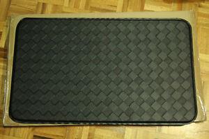 AnthroDesk standing desk anti-fatigue floor mat (Black) nouveau
