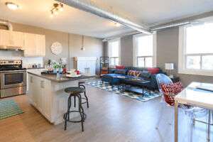 Brand New Loft with Fireplace, Breakfast Bar, and Chef's Kitchen