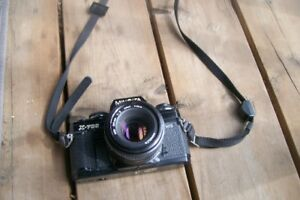 Minolta X-700 Camera, Trypoid, 3 different lenses, accessories