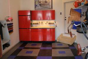 High End Garage Cabinets by Contur for sale. MSRP $10,000.00