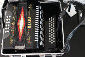 Brand new Fever accordian for sale