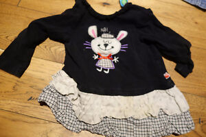 Girls 6-12 month clothing and shoes - box full
