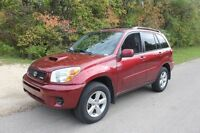 Toyota Rav4 safetied only 90000kms clean title no rust