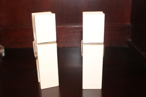 White Wooden Clothes Peg Photo Holders
