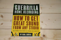 Guerilla Home Recording Book