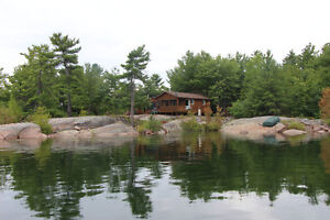 Featured on SLICE!  Island-5 acres-the rest is Crown Land!!