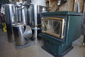 Woodstove and Piping