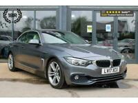 2017 BMW 4 Series 2.0 420i Sport Auto 2dr Convertible Petrol Automatic