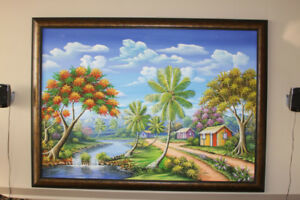 """""""Stonley"""" Real Oil Painting"""