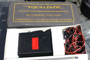 Realistic 40 channel two way radio