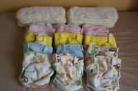 SECOND HAND BAMBOO DIAPERS