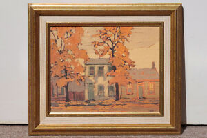 Framed Canadian art canadien encadré, 4 reproductions Artagraph