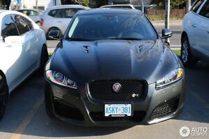 2010-2012 BLACK JAGUAR XFR SUPERCHARGED
