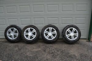 4 Continental TrueContact Tires mounted on Sacchi Rims 235/65R18