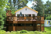 ESCAPE to CHARMING Lakefront Chalet-July 17-24, 24-31, Aug.1-8,