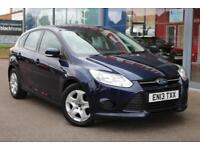 2013 FORD FOCUS 1.6 TDCi Edge GBP20 TAX, DAB and BLUETOOTH and 6 SPEED