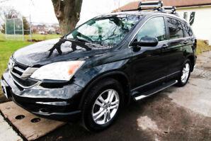Navigation,BackCamera,leather,Sunroof,4WD, 2010 HONDA CRV