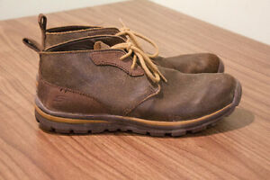 Brown Leather Sketchers