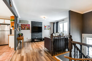 3 BR HOUSE FOR RENT IN SAINT HUBERT 20 MIN FROM DOWNTON