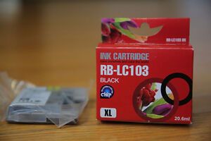 Brother LC103 Ink Cartridges (black) XL (brand new unopened)