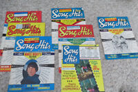 Song Hits Magazines from 1966-1968 $25 OBO For The Lot